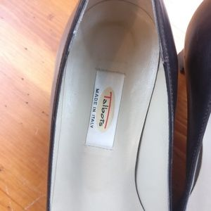 Talbots Shoes - Talbots Italian Leather Black Neutral Heels/ Pumps